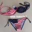 ชุดว่ายน้ำ บิกินี่ ทูพีช ลายธงชาติ thumbnail 4