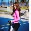 ชุดว่ายน้ำ ขายาว เสื้อแขนยาวสีชมพู สกรีนลาย thumbnail 6