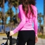 ชุดว่ายน้ำ ขายาว เสื้อแขนยาวสีชมพู สกรีนลาย thumbnail 3