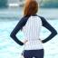 ชุดว่ายน้ำ แขนยาว ขาสั้น base ball thumbnail 3
