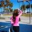 ชุดว่ายน้ำ ขายาว เสื้อแขนยาวสีชมพู สกรีนลาย thumbnail 5