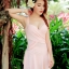 ชุดว่ายน้ำวันพีช แต่งเอวซีทรู โชว์หลัง - สีชมพู thumbnail 1