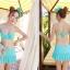 บิกินี่ Bikini-Fairy Daisy (ฺBlue) ชุดว่ายน้ำแบบเซ็ท thumbnail 1