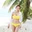 ชุดว่ายน้ำ บิกินี่ ชุดว่ายน้ํา BiKiNi-FaiRy Cuties (Yellow) thumbnail 3