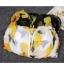 ชุดว่ายน้ำวันพีช โชว์หลัง ลายดอก สีขาว thumbnail 4