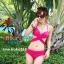 ชุดว่ายน้ำ บิกินี่ ทูพีช บราผูก Pink thumbnail 1