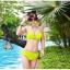ชุดว่ายน้ำ บิกินี่ ทูพีช บราผูก เขียวตอง thumbnail 1