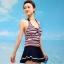 ชุดว่ายน้ำ Sporty Girl D01 Navy thumbnail 3