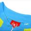 เสื้อปั่นจักรยานแขนยาวผู้หญิง SOUKE สีฟ้าเขียว : CL21011 thumbnail 10