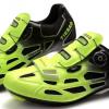 รองเท้าปั่นจักรยานเสือหมอบ TIEBAO สีดำเขียวสะท้อนแสง : TB16-B1259_1002