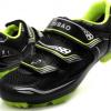 รองเท้าปั่นจักรยานเสือภูเขา TIEBAO สีดำเขียวสะท้อนแสง : TB15-B1255_0210