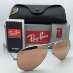 Ray Ban Aviator RB3025 019/Z2 Silver Pink mirror 55 / 58mm
