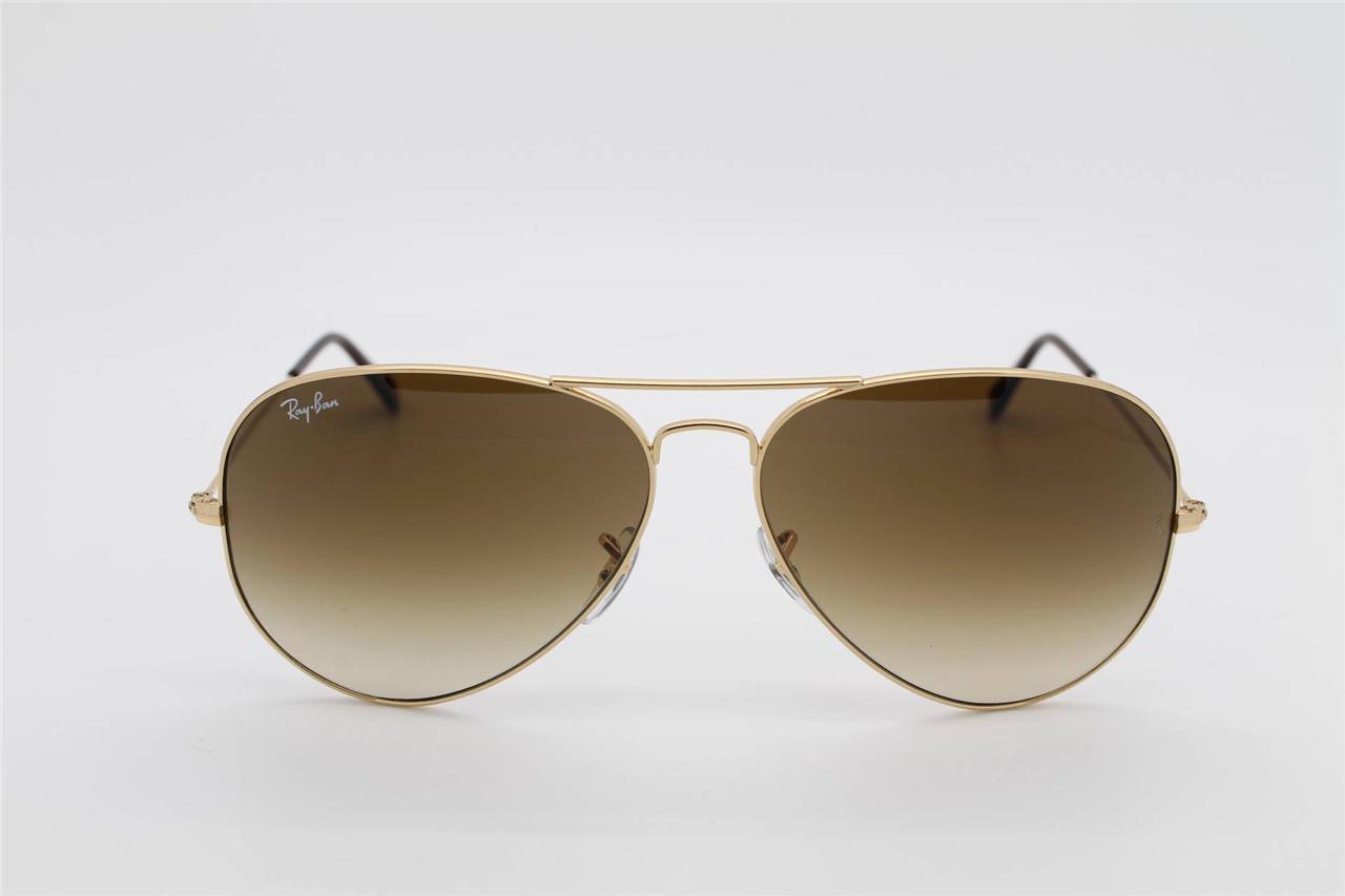 e3e6695008 แว่นกันแดด Ray Ban RB3025 001 51 Aviator Brown Gradient แท้ ราคา ...