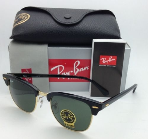 rb3016 clubmaster w0365 9eum  Ray Ban RB3016 Clubmaster W0365 49/51mm